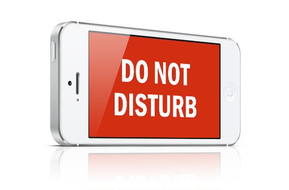 ویژگی Do Not Disturb