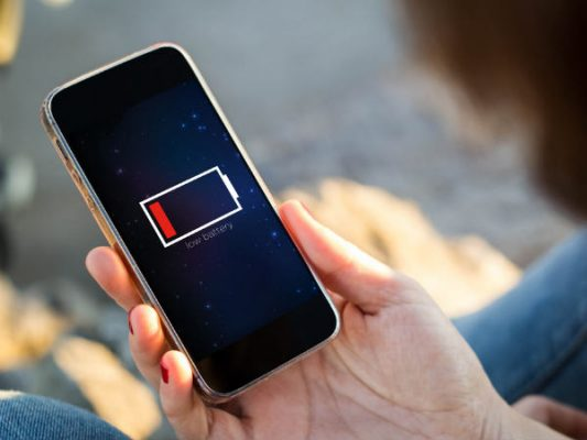 cheak iphone battery
