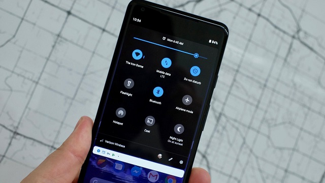 android-p-dark-mode-on-device