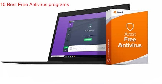 best free antivirus programs 10