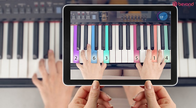 برنامه های یادگیری پیانو