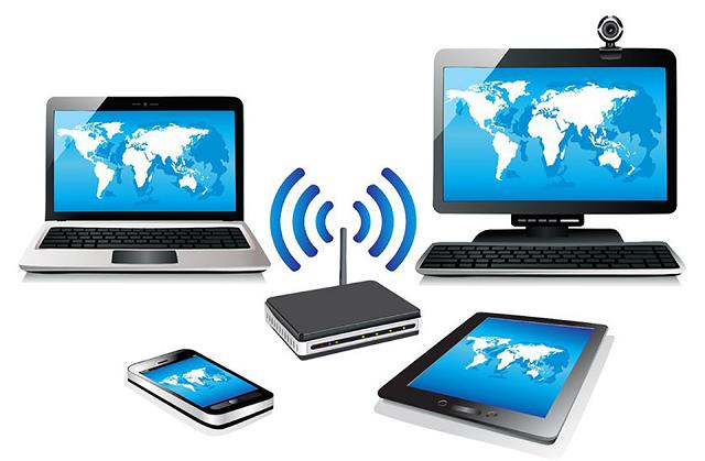 مصرف اینترنت وای فای