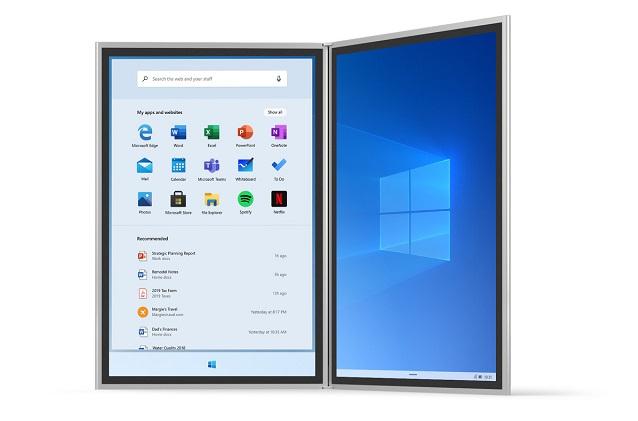 ویندوز 10x روی دستگاه تاشو سرفیس نئو