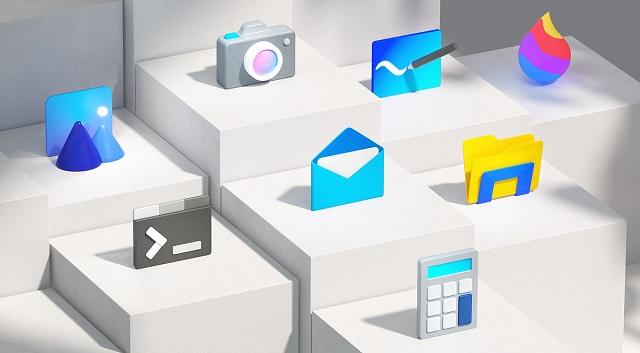 آیکن های جدید برای ویندوز 10