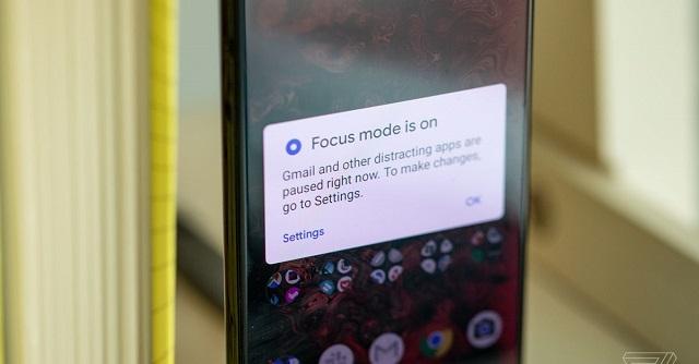 قابلیت focus mode
