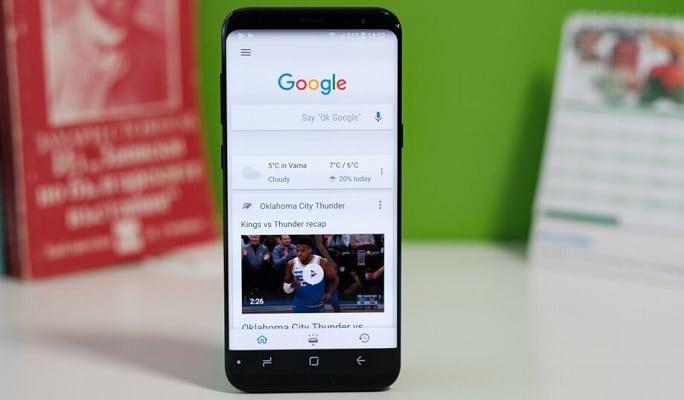 اپلیکیشن جست و جوی گوگل