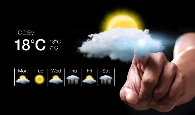 بهترین اپلیکیشن های هواشناسی اندروید