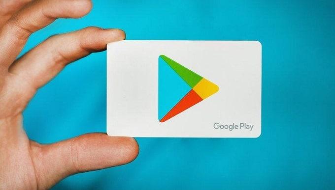 گیفت کارت های گوگل پلی