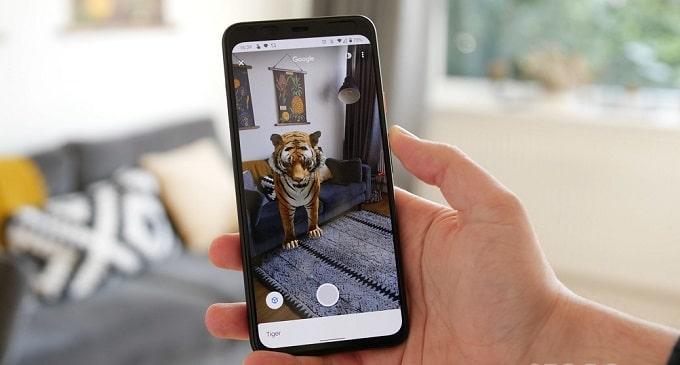 مشاهده سه بعدی حیوانات در گوگل