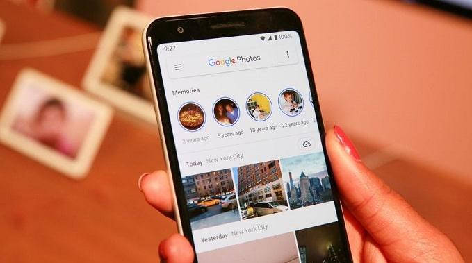 اپلیکیشن گوگل فوتوز