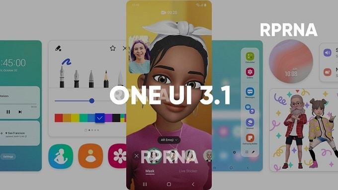 آپدیت One UI 3.1