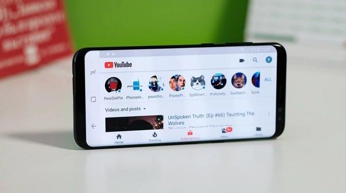 برنامه موبایل یوتیوب